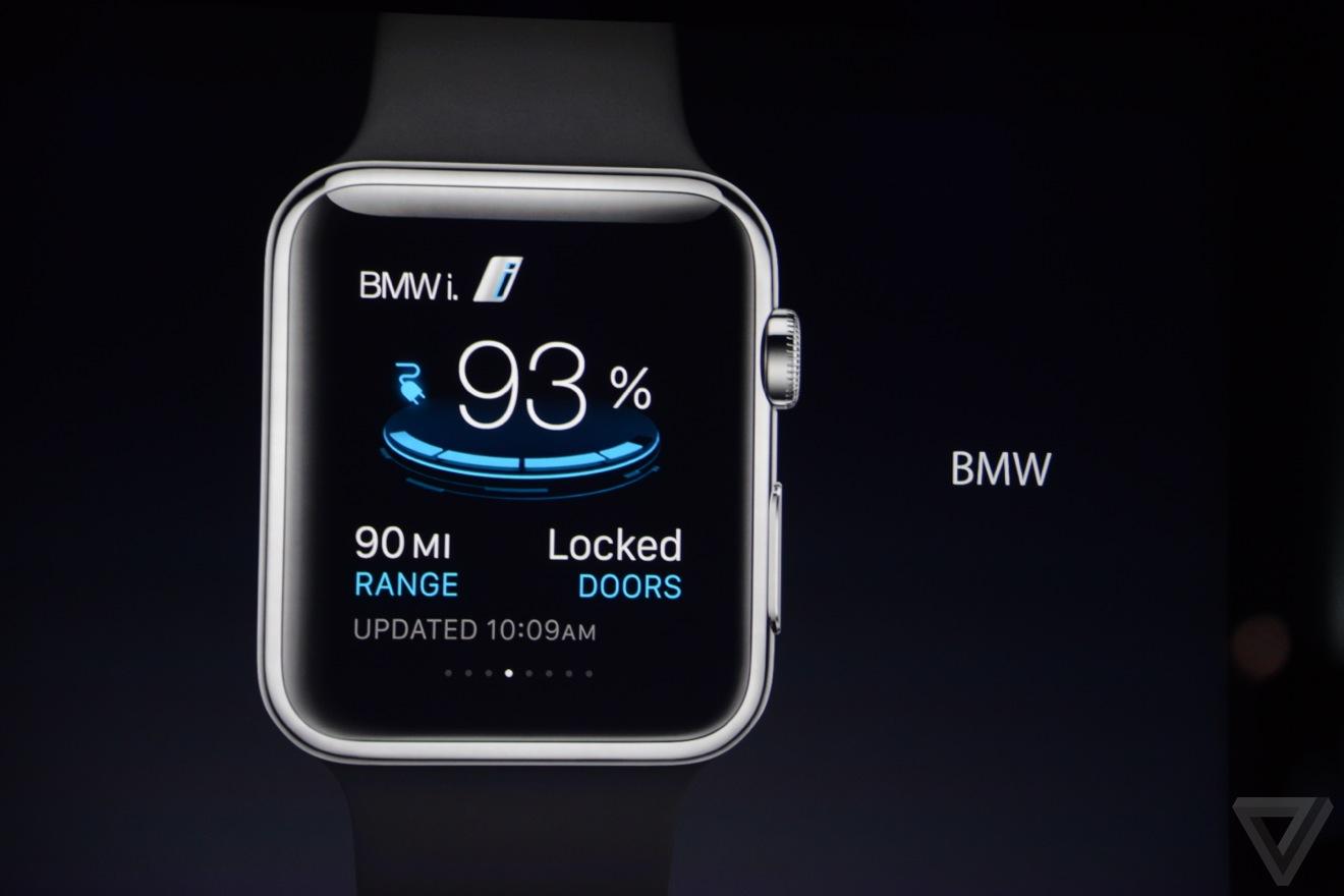 apple watch bmw