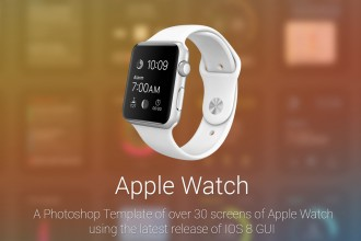 apple watch grafik arayüz 2