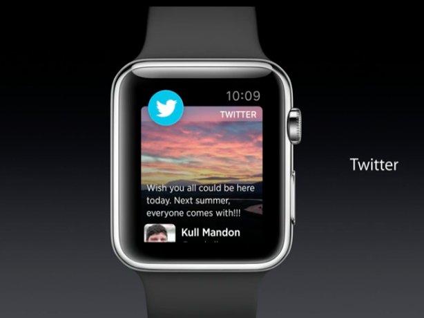 apple watch sosyal ağlar