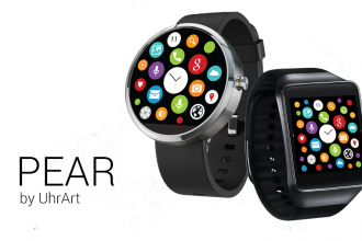 android wear pear arayüz