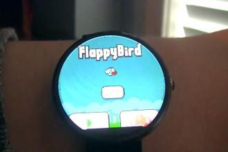 akıllı saatlerde flappy bird moto 360