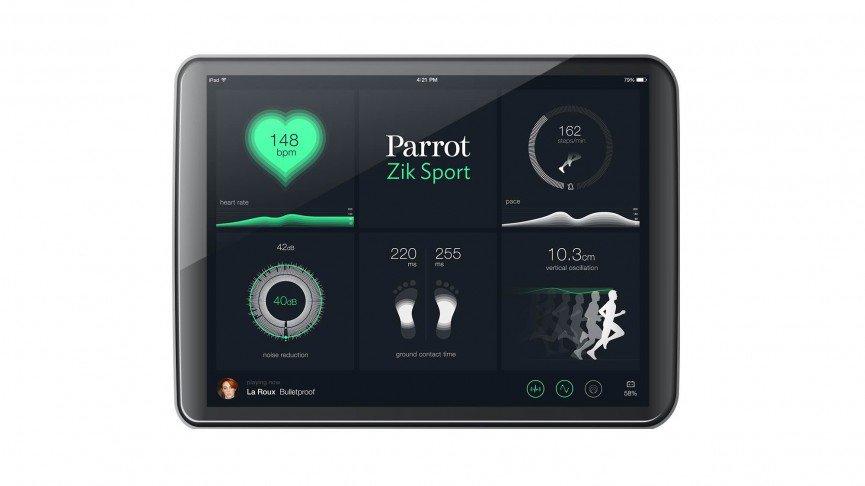parrot zik sport akıllı kulaklık uygulama