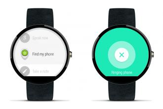 android wear akıllı telefon bulma