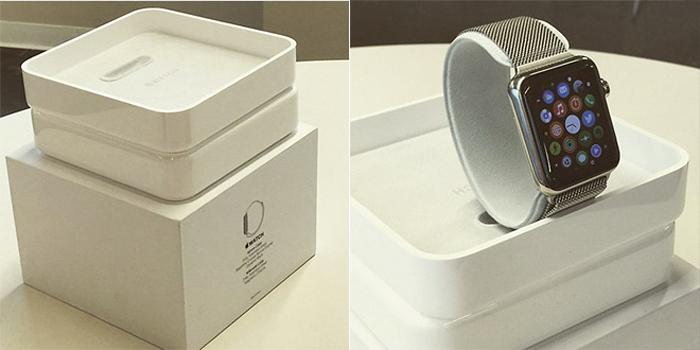 apple watch kutu açılış