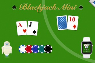 blackjack mini apple watch