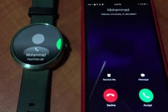 ios android wear uygulaması