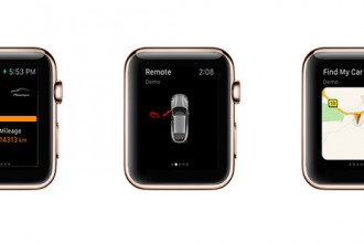 porsche apple watch uygulaması