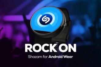 android wear için shazam