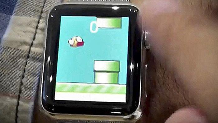 flappy bird apple watch