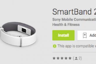 sony smartband 2 akıllı bileklik