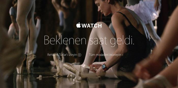 apple watch türkiye