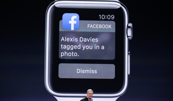 facebook apple watch app