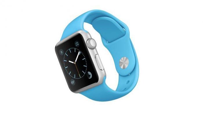 apple watch mavi