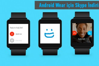 skypoe android wear uygulaması