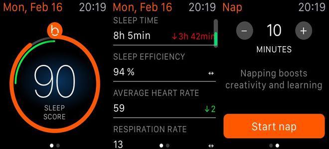 beddit uyku takibi cihazı apple watch