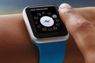 facebook messenger appple watch