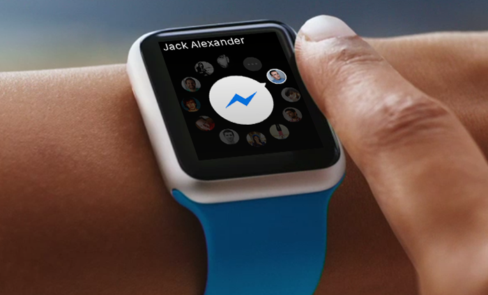 facebook messenger appple watch