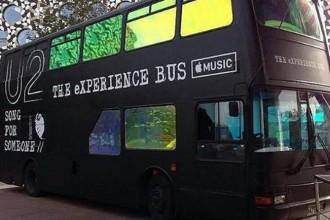 apple u2 sanal gerçeklik otobüsü