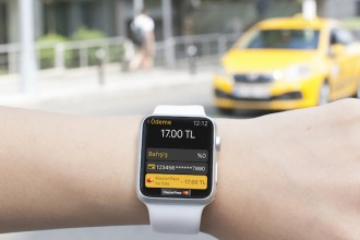 bitaksi apple watch masterpass