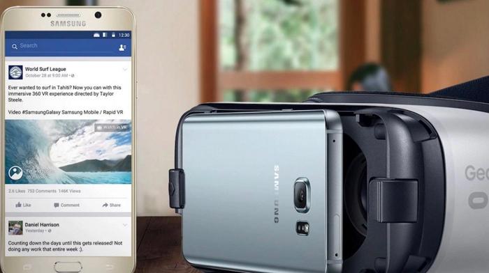 facebook 360 derece video