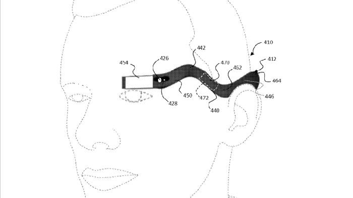 google glass patent 1