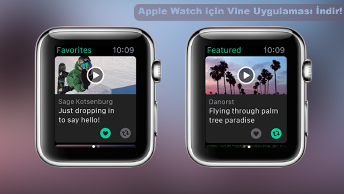vine apple watch uygulaması1