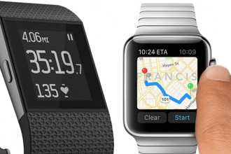 Fitbit-vs-apple-watch-gps