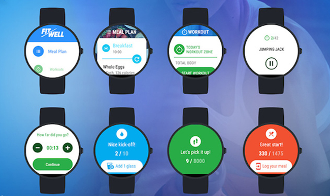 fitwell android wear 2
