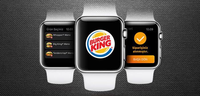 apple watch burger king
