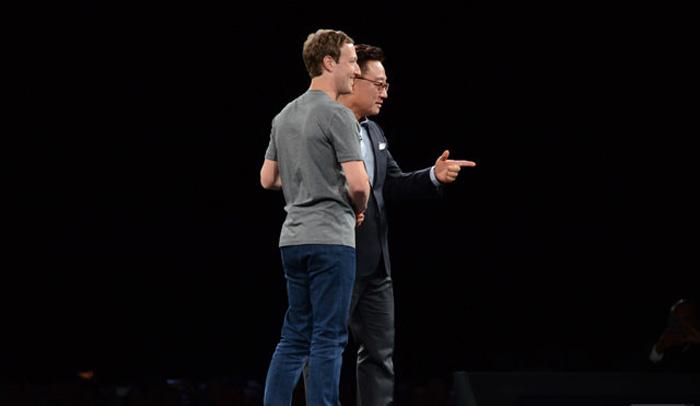 zuckerberg samsung sanal gerçeklik
