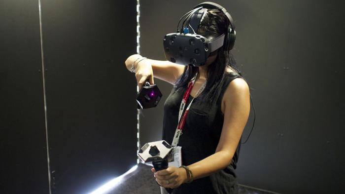 htc vive sanal gerçeklik akıllı telefn