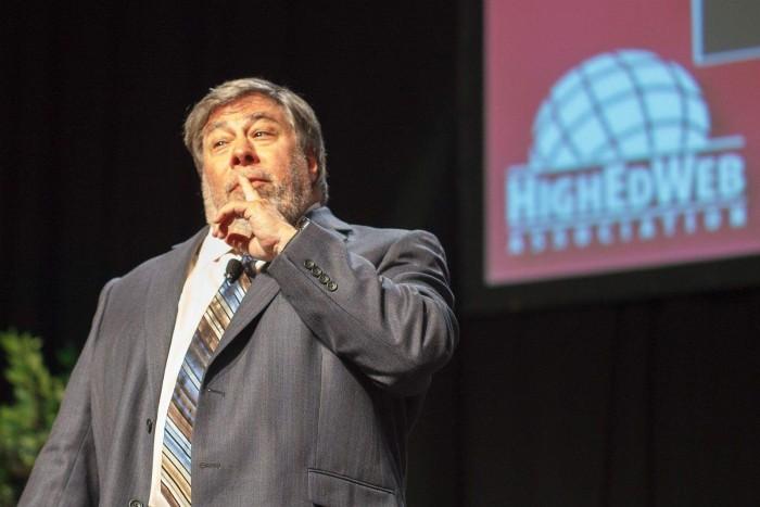 Steve-Wozniak-at-HigherEdWeb