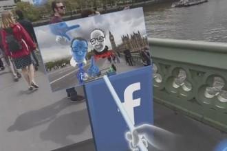 oculus facebook selfie
