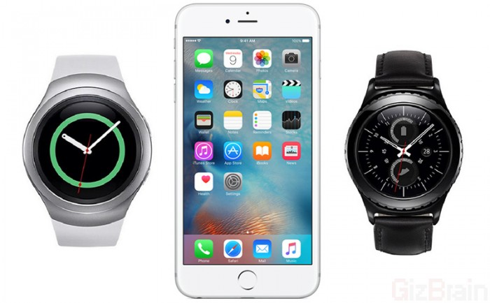 Gear S2 Iphone >> Samsung Gear S2 Ile Iphone Eslemesi Cikmak Uzere Wearlogy