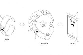 samsung akıllı saat patent